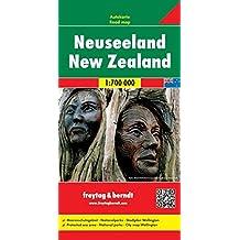 Freytag Berndt Autokarten, Neuseeland - Maßstab 1:700.000 (freytag & berndt Auto + Freizeitkarten)