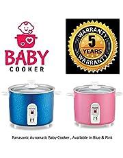 Panasonic SR-3NA Automatic Baby Travel Cooker, 300ml (Pink/Blue)