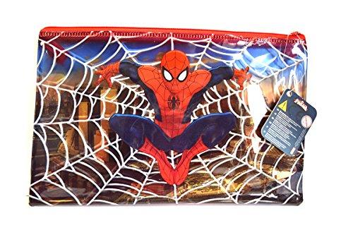 Trousse Nécessaire de toilette hérmetique 25x15 Spiderman