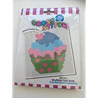 Beginners Child Cross Stitch Embroidery Kit CUPCAKE