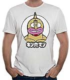 35mm - Camiseta Hombre Musculman-Retro-TV, Blanca, L