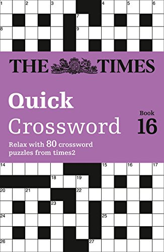 The Times Quick Crossword book 16