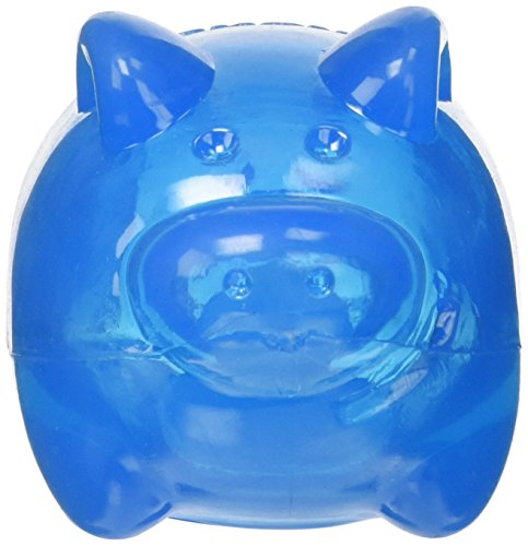 Kong Squeezz Jels Pig Quietschgeräusche Hundespielzeug, groß (Farben variieren)