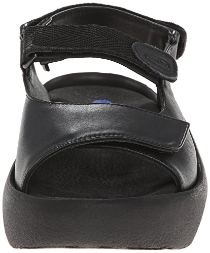 Wolky , Baskets mode pour femme Noir - Black smooth