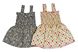 Sathiyas Baby Girls Gathered Dresses pac...