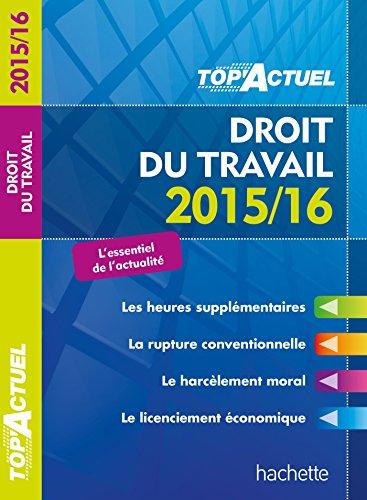 Top Actuel Droit Du Travail (TOP'Actuel)