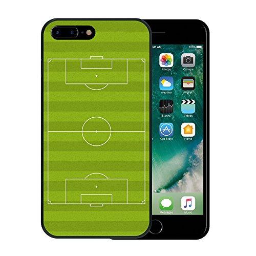 iPhone 7 Plus Hülle, WoowCase Handyhülle Silikon für [ iPhone 7 Plus ] Roma Itallien Symbole Handytasche Handy Cover Case Schutzhülle Flexible TPU - Schwarz Housse Gel iPhone 7 Plus Schwarze D0088