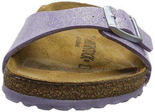 Birkenstock Madrid Birko-Flor, Mules Femme, Magic Lavender Violett (MAGIC Galaxy Lavender)