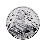 Moneta in argento Big Ben Royal Mint 2017 con capsula portamonete.
