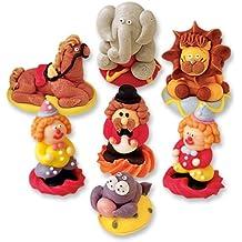 6 Figurine di zucchero da circo