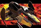 Tapetokids Fototapete - Star Wars Anakin Jedi Sternjä ger - Vlies 368 x 254 cm (Breite x Höhe) - Wandbild Star Wars