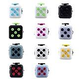 Chronex Good Quality Stress Relief Fidget Cube, Black