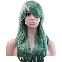 YOPO 71,12 cm de gran tamaño de las mujeres largo cuidado de la peluca