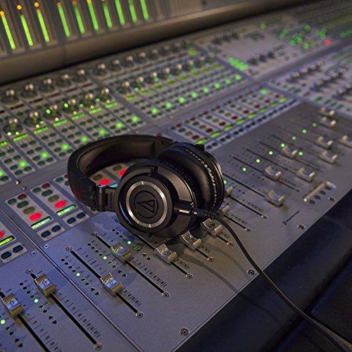 Audio Technica ATH-M50x DJ-Kopfhörer für Studio - 16