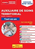 Concours Auxiliaire de soins territorial - Catégorie C - Tout-en-un - Concours externe 2019-2020...