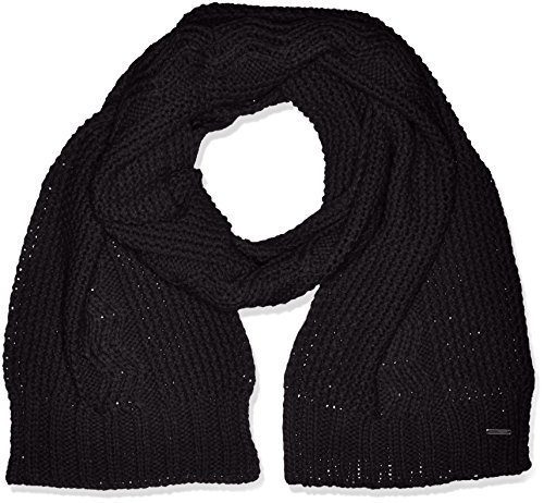 Roxy Stay Out-Sciarpa da donna, colore: nero