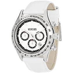 Versus Damen Cosmopolitan Leather Chronograph Armbanduhr