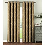 Best Window Elements Blinds - Window Elements Geo Gate Embroidered Faux Linen Extra Review