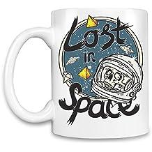 Lost in space Taza para café