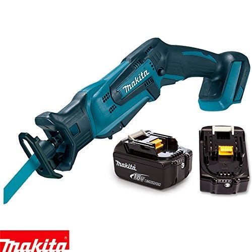 Makita DJR183Z 18V Cordless Li-ion Mini Reciprocating Saw With 2 x 5Ah  Batteries