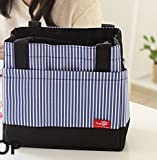 EZ Life Thermal Lunch Box Bag (Navy Blue)