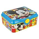 Box Colazione Topolino Icons Mickey Mouse DECOR Scatola Spuntino Lunchbox Portamerenda Porta SANDWICH Bambini Scuola