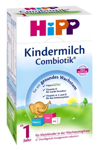 Hipp Kindermilch Bio Combiotik - ab dem 1. Jahr, 600g