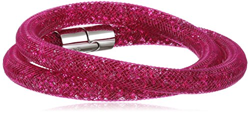 Swarovski - 5089833, Bracciale in acciaio inossidabile con vetro donna, 40 centimeters