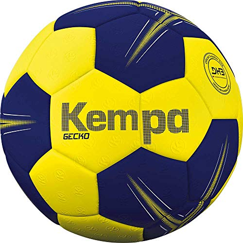 Kempa Unisex- Erwachsene Gecko Handball, Ball, gelb, 0