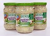 Heinz - Sandwichspread Gurke - 3 x 300 Gramm