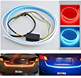 #2: Allextreme LED Waterproof Strip Light For Car Tailgate/Rear Tail Lights, Brake Turn Signal, Braking Light Free Switch - Red And Blue Color