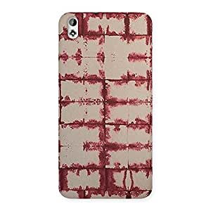 Brick Wall Vintage Back Case Cover for HTC Desire 816s