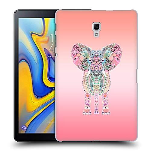 Head Case Designs Offizielle Monika Strigel Rosa Gipsy Elefant Harte Rueckseiten Huelle kompatibel mit Samsung Galaxy Tab A 10.5 (2018)