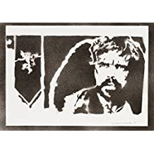 Tyrion Lannister Juego De Tronos (Game Of Thrones) Hecho A Mano - Handmade Street Art Poster