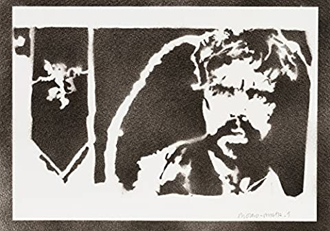 Tyrion Lannister Le Trône De Fer (Game Of Thrones) Handmade Street Art - Artwork - Poster