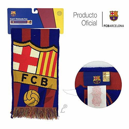 Producto Oficial FC Barcelona Bufanda FCBARCELONA (Gran Escudo) 3d0a87bd2a3