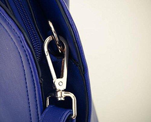 Frauen Tasche Einfache Shell Tasche Schultertasche Messenger Bag Handtasche Lässig Wilde Atmosphäre Pink