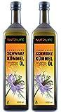 Nutrilife Schwarzkümmelöl, 2x 1000ml, gefiltert, kaltgepresst, ägyptisch, 100% naturrein, Frischegarantie: täglich mühlenfrisch direkt vom Hersteller Kräuterland