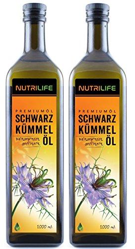Kräuterland Natur-Ölmühle Schwarzkümmelöl  Nutrilife im Test