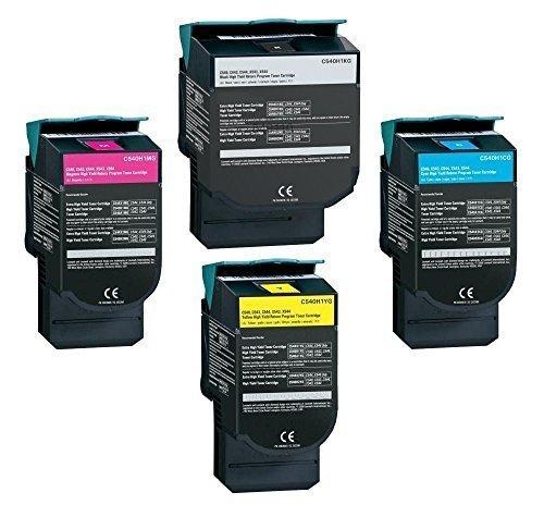 Preisvergleich Produktbild 4 ORIGINAL SCHNEIDER TONER ersetzen Lexmark CX310dn CX310n CX410de CX410dte CX510de CX510dhe CX510dthe ,802SK/ 80C2SK0 ,802SY/ 80C2SY0 ,80C2SM0 magenta ,802SK/ 80C2SK0 Schwarz cyan magenta gelb