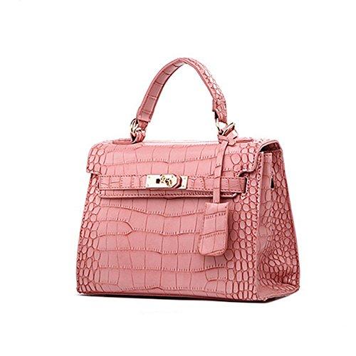Eysee, Poschette giorno donna Verde rosa 25cm*19cm*11cm rosa