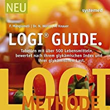 LOGI-Guide: Tabellen mit über 500 Lebensmitteln bewertet nach ihrem Glykämischen Index und ihrer Glykämischen Last