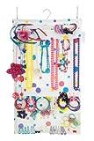 Swag-bag - Borsa porta gioielli da appendere in armadio, per collane, orecchini, bracciali e anelli