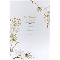Hallmark Sympathy Card 'Thoughts Are With You' - Medium