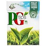 PG TIPS -- hochwertiger schwarzer Tee -- 80 Beutel