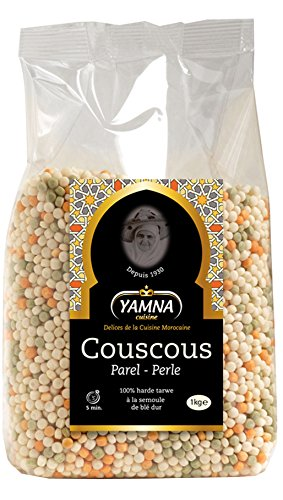 Yamna Couscous Perlen Tricolore, 6er Pack (6 x 900 g)