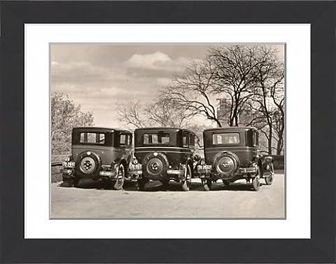 Framed Print of Nash Corporation cars