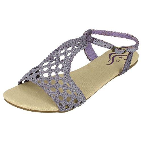 Spot On , Sandales pour femme Violet - Lilac