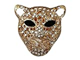 La Loria Donna 2 Clips Decorative Per Scarpe -Leo- Oro Gioielli Asportabile Clips