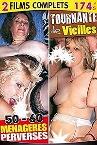 DVD X - 2 Films - Vieilles vol 46 - 50-60 Menageres Perverses + Tournantes de Vieilles - 2 Films Femmes Mures